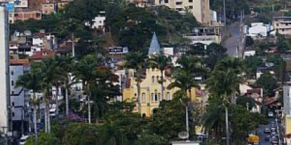 Manhuaçu-MG-Vista da área central-Foto:Elpídio Justino de Andrade