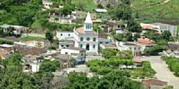 Vista do centro de Mantena-Foto:montanha