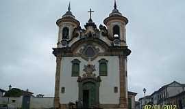 Mariana - Mariana-MG-Igreja de São Francisco-Foto:Josue Marinho
