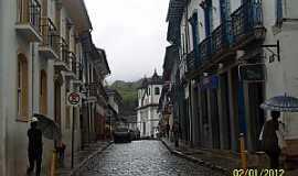 Mariana - Mariana-MG-Rua Direita-Foto:Josue Marinho