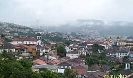 Mariana - Mariana-MG-Vista da cidade da cidade-Foto:Josue Marinho