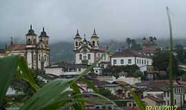 Mariana - Mariana-MG-Vista parcial da cidade-Foto:Josue Marinho
