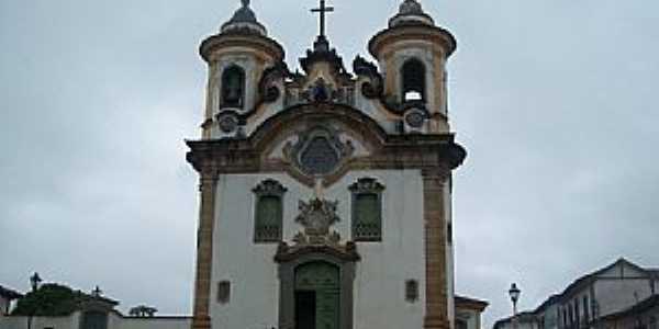 Mariana-MG-Igreja de São Francisco-Foto:Josue Marinho