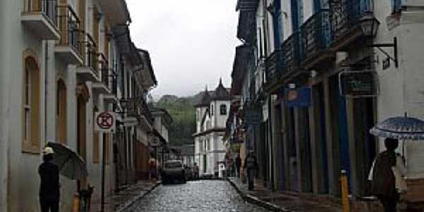 Mariana-MG-Rua Direita-Foto:Josue Marinho