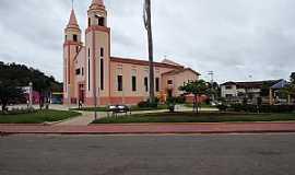 Marilac - Marilac-MG-Praça e Matriz de Santa Luísa-Foto:gilmarjosesilva