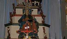 Marilândia - Interior do Santuário de N.Sra.do Desterro-Foto:Sérgio N