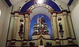Marilândia - Marilândia-MG-Altar do Santuário de N.Sra.do Desterro da Volta-Foto:Thymonthy Becker