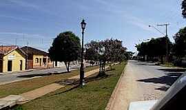 Marilândia - Marilândia-MG-Entrada da cidade-Foto:Thymonthy Becker