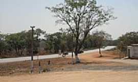 Marilândia - Rodovia vista do posto de combustível-Foto:LEONARDO DIAZ