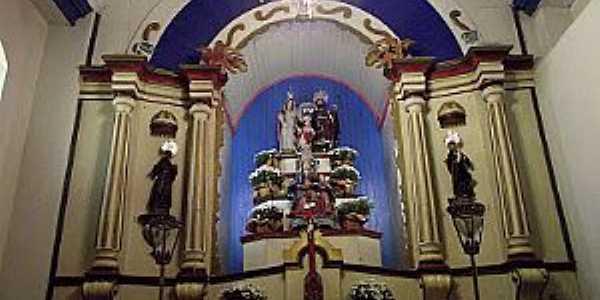 Marilândia-MG-Altar do Santuário de N.Sra.do Desterro da Volta-Foto:Thymonthy Becker