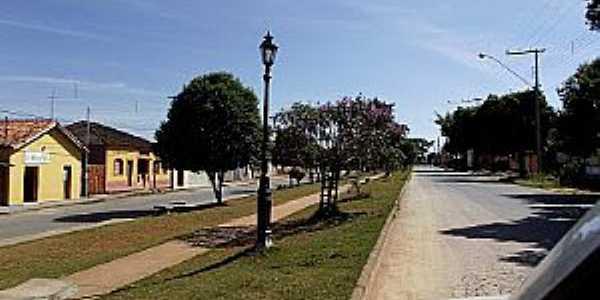 Marilândia-MG-Entrada da cidade-Foto:Thymonthy Becker