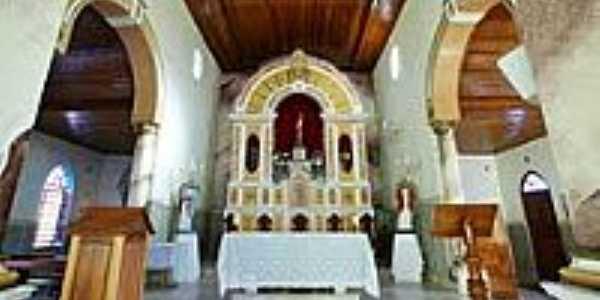 Interior da Igreja de São Sebastião-Foto:sgtrangel
