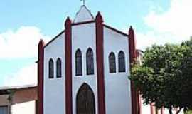 Martinésia - Matriz de São João Batista-Foto:Vicente A. Queiroz