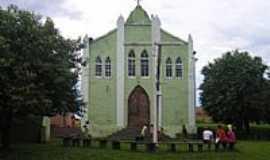 Martinésia - Igreja em Martinésia, foto por Grupo Trilheiro.