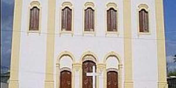 Água Fria-BA-Igreja de São João Batista-Foto:orlandomatos1.blogspot.com