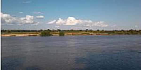 Água Fria-BA-Rio São Francisco-Foto:http://povoadodeaguafria.blogspot.com.br