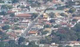 Mateus Leme - vista parcial da cidade de mateus leme , Por Isa