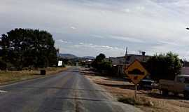 Mato Verde - Mato Verde-MG-Entrando da cidade-Foto:Rômulo Henok