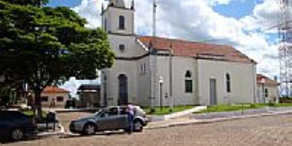 Igreja Matriz em Milagre-Foto:geraldopoiani
