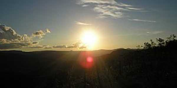 Milho Verde-MG-Pôr do Sol-Foto:Leandro Durães