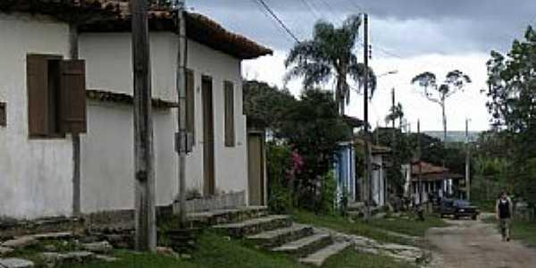 Milho Verde-MG-Rua da cidade-Foto:Jose Gustavo Abreu Murta