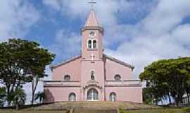 Minduri - Igreja Mattriz do Sagrado Cora��o de Jesus[atual] de Minduri-Foto:John Lima