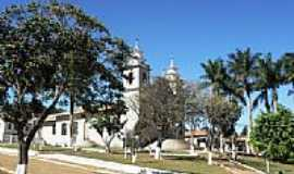 Monsenhor Isidro - Praça e Igreja Matriz de Monsenhor Izidro-Foto:souexcel