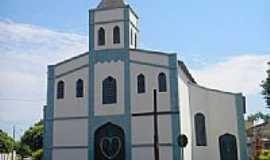 Monte Alegre de Minas - Igreja do Rosário em Monte Alegre de Minas-MG-Foto:Glaucio Henrique Cha…