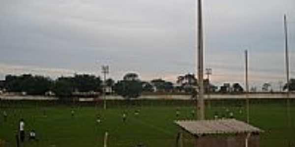 Estádio de Futebol de Monte Alegre de Minas-MG-Foto:Clayton Jr