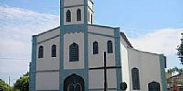 Igreja do Rosário em Monte Alegre de Minas-MG-Foto:Glaucio Henrique Cha…
