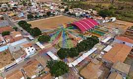 Alegre - Alegre-BA-Vista aérea do cenário da Festa de São João-Foto:Facebook
