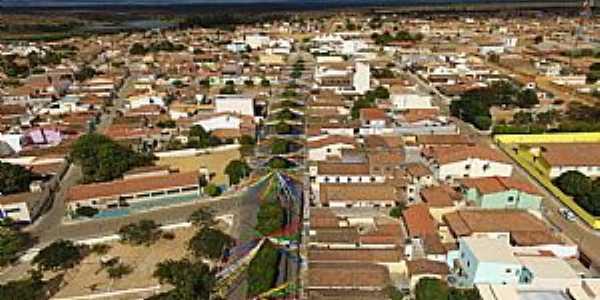 Alegre-BA-Vista aérea da cidade-Foto:Facebook