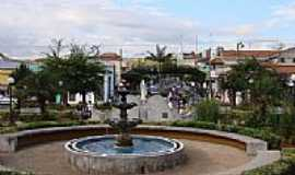 Monte Sião - Praça no centro de Monte Sião-Foto:John Lima