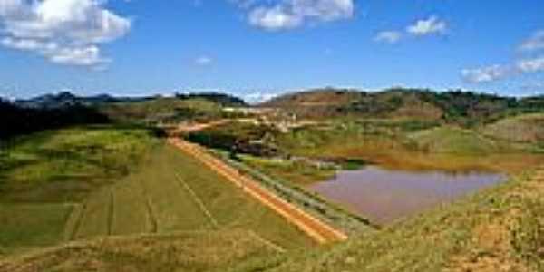 Barragem da Mineradora do Cons�rcio Mira�-Foto:sgtrangel