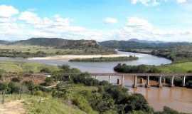 Naque - Cart�o postal de Naque foz dos rio Santo  Ant�nio e rio Doce., Por andr� augusto de  oliveira