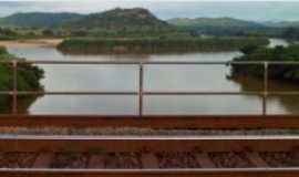 Naque - Foz do Rio Santo Antônio e Rio Doce  na cidade de Naque MG  Brasil., Por andré augusto de oliveira