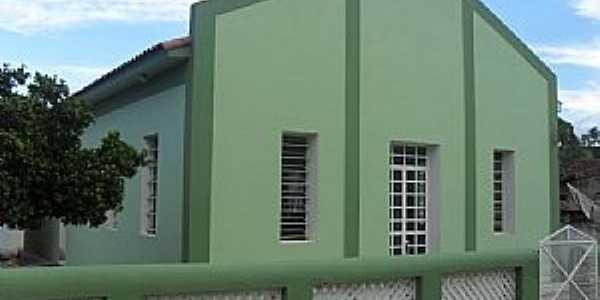 Nicolândia-MG-Igreja da Congregação Cristã do Brasil-Foto:pipresplendor.com.br