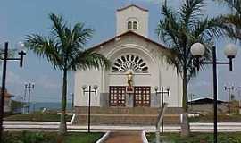 Nova Ponte - Igreja São Sebastião Foto Willians Martins