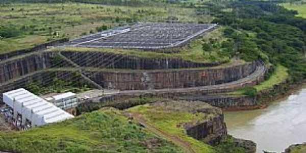 Nova Ponte-MG-Vista da Barragem-Foto:Fl�via Corr�a