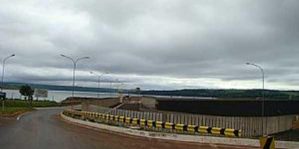Nova Ponte-MG-Vista da Barragem-Foto:Jz.
