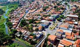 Nova Porteirinha - Nova Porteirinha-MG-Vista aérea da cidade-Foto:PM-Facebook