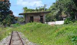 Amado Bahia - Amado Bahia-BA-Ruínas da antiga Estação Ferroviária-Foto:Blog do Chiquitinha Maravilha