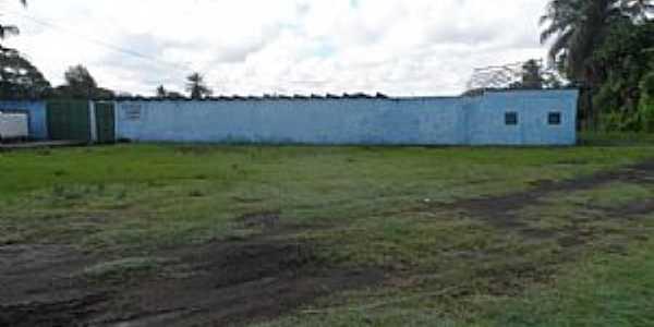 Amado Bahia-BA-Entrada do Estádio Cândido Soares-Foto:Blog do Chiquitinha Maravilha