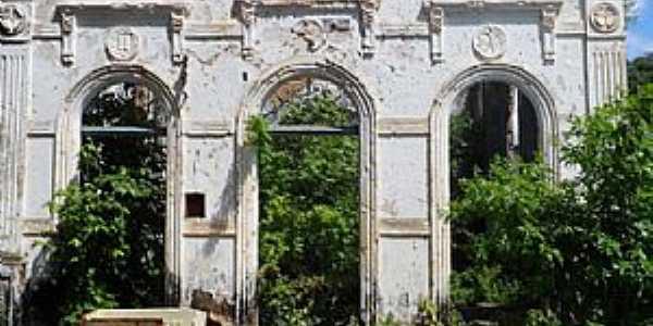 Amado Bahia-BA-Ruínas da Igreja de São José-Foto:Blog do Chiquitinha Maravilha