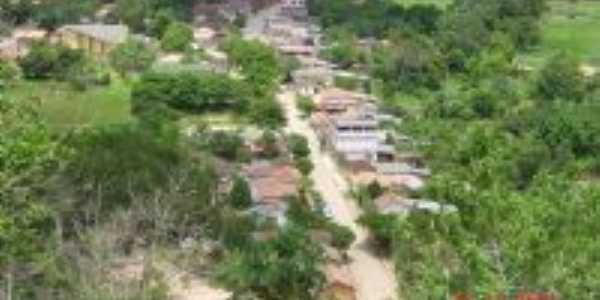A vila vista do morro do Cruzeiro, Por Elpídio Justino de Andrade