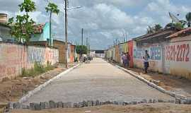 Bananeiras - Bananeiras-AL-Rua da cidade-Foto:www.arapiraca.al.gov.br