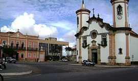 Oliveira - Oliveira-MG-Praça e Matriz N.Sra.de Oliveira-Foto:André Saliya