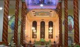 Oratórios - Vista da parte superior do interior da Igreja de São José, Por Isabella Bragione