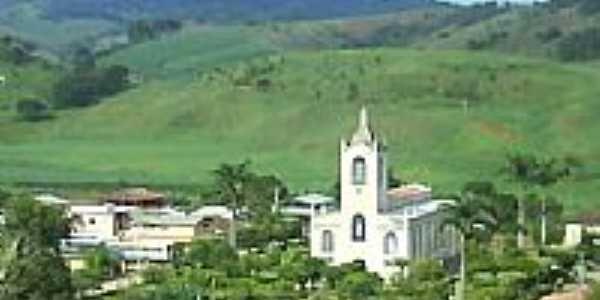 Praça e Igreja de São José em  Oratórios-Foto:bebeti