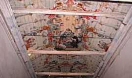 Ouro Branco - Ouro Branco-MG-Pintura no teto da Matriz de Santo Ant�nio-Foto:CarlosMagnooliveira